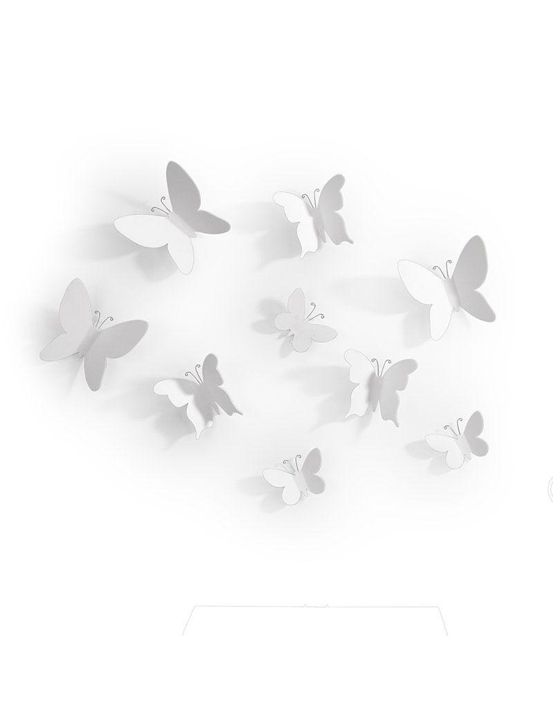 Imagen Decoración de Pared Mariposa (9 unidades)