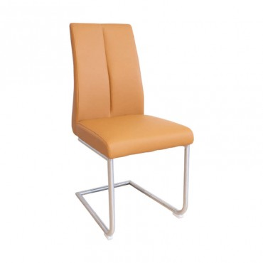 Silla Alexa Polipiel Orange