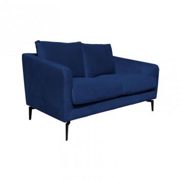 Sofá Larissa 2 Puestos Azul