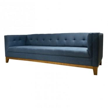 Sofá Andy 3 Puestos Azul