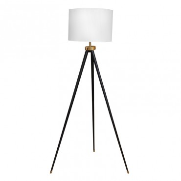 Lámpara de Piso en Beige y...