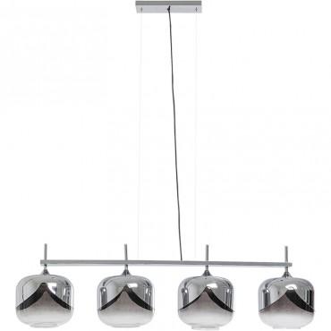 Lámpara Goblet Cromo 25cm
