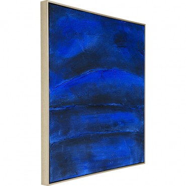 Cuadro Abstract Deep azul...