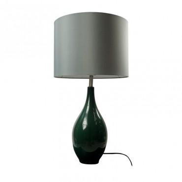 Lámpara de Mesa Francesa Azul