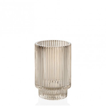 Tea Light Vidrio Beige...