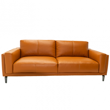 Sofá Hudson 2 Puestos Naranja