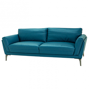 Sofá Jeff 3 Puestos Azul