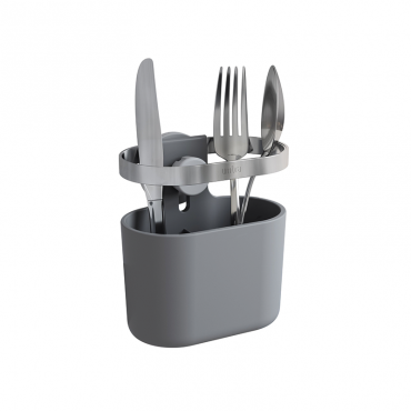 Holster Utensil Caddy Charcoal