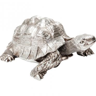 Figura Deco Turtle Plata Peq