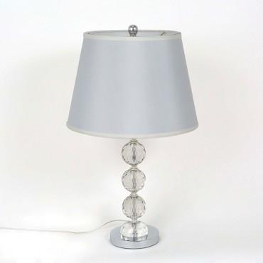 Lámpara de Mesa Vidrio y...