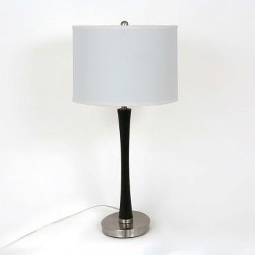 Lámpara de Mesa Metal y...