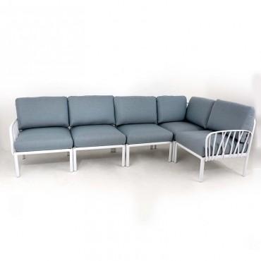 Sofá de Exterior Komodo Blanco