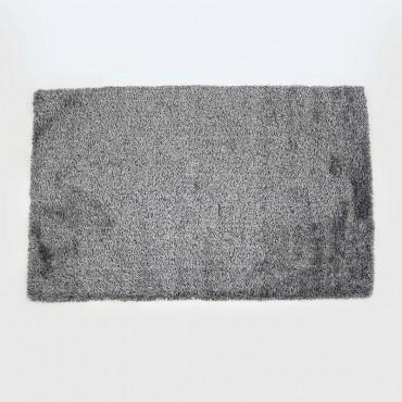 Alfombra Shaggy Gris 160x230cm