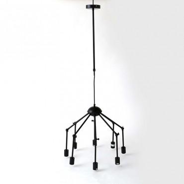 Lámpara Colgante Iron Black