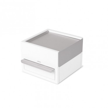 Stowit Mini Jwl Box Wht/Nkl