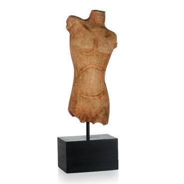 Estatua Madera Man...