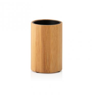 Portacepillo Bambu/Pp Negro...
