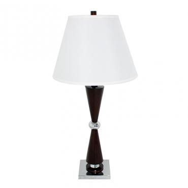 Lámpara De Mesa Alvin Metal...