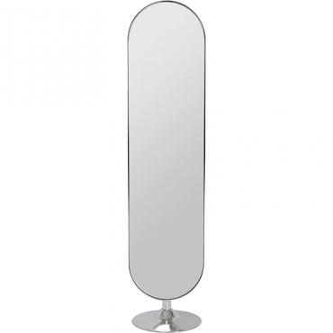 Floor Mirror Curvy Chrom...