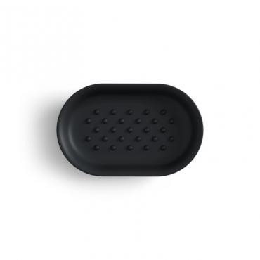 Junip Oval Soap Dish Black