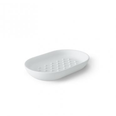 Junip Oval Soap Dish White