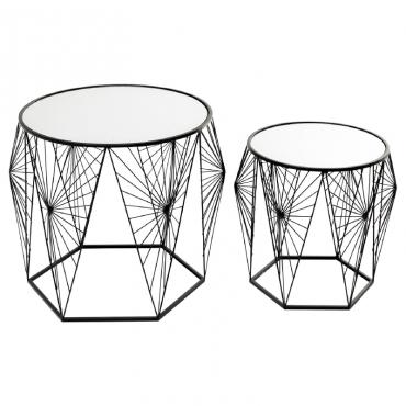 Side Table Cobweb Black...