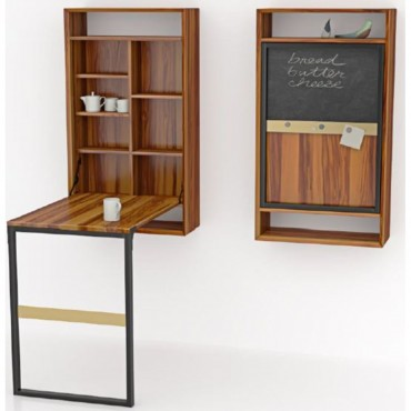 Wall Rack with Table...