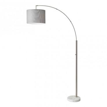 BOWERY ARC LAMP STEEL H186...