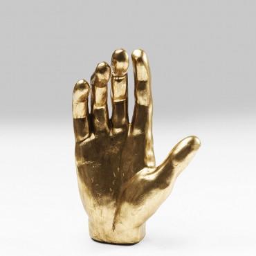 Objeto Decorativo Mano Oro