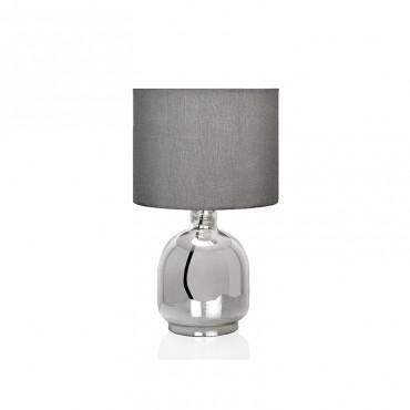 Lámpara Vidrio Gris...
