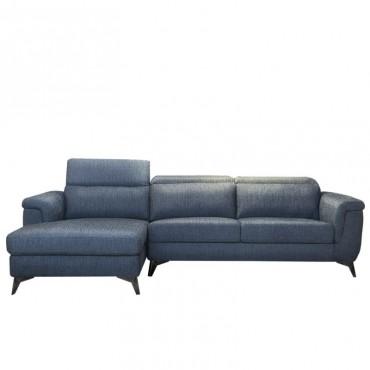 Sofá Hitch Izquierda Azul