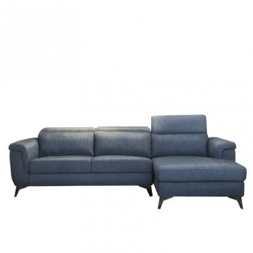 Sofá Hitch Derecha Azul