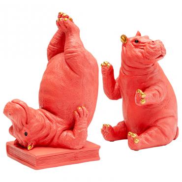 Sujetalibros Hippo rosa...