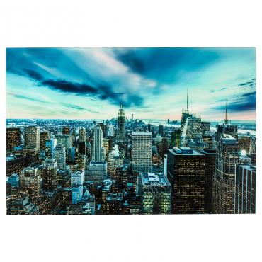 Cuadro Cristal New York...